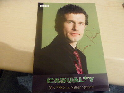 Genuine Signed Photograph Of Ben Price-Casualty