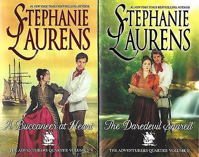 Lot of 2,The Adventurers Quartet by Stephanie Laurens (2016)