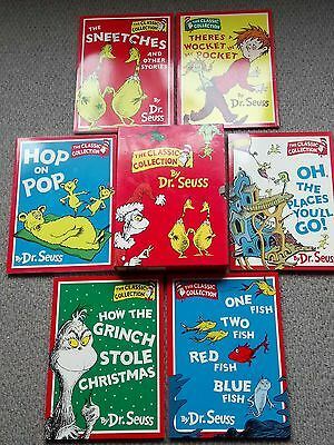 Dr. Suess The Classic Collection 6 Book Box Set