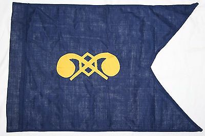 Original U.s. Army Chemical Corps Guidon, 1990 Dated, New Old Stock