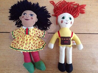 Rosie And Jim Rag Dolls Canal Boat