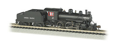Union Pacific Alco 2-6-0 Mogul Steam Locomotive #41 w/Decoder DCC N-Scale