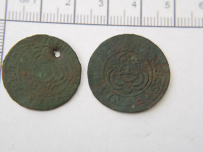 Metal detecting finds #1o Two Jettons