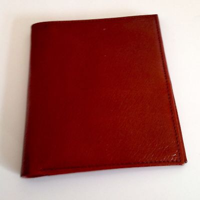 Vintage Vantage Bifold Wallet Real Andrew Hide Leather