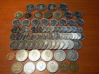 Mixed Lot of Circulated Coins from Venezuela  - 2