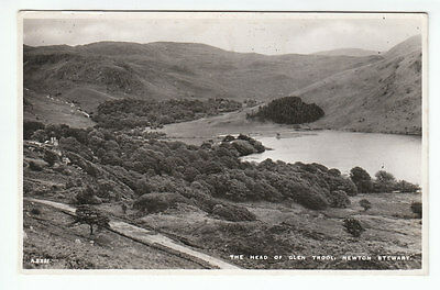 The Head Of Glen Trool Newton Stewart Wigtown Real Photograph JB White A5321