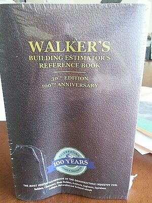 Walkers Buikding Estimator Book