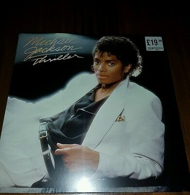 Michael Jackson Thriller Vinyl gatefold sleeve record. New and sealed