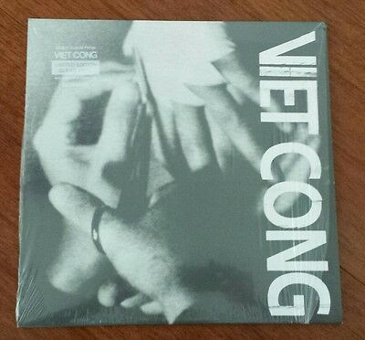 Viet Cong (Preoccupations) - VietCong - LP Limited Edition Clear Vinyl (Sealed)