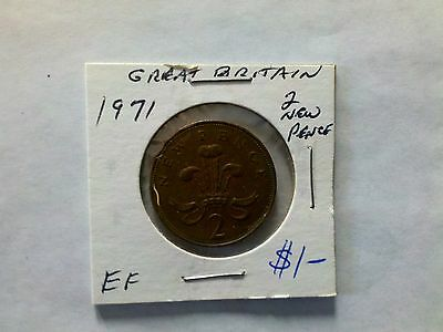 Great Britain 1971 2 New Pence