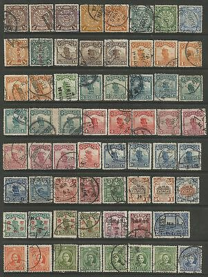 CHINA. A Selection of 78 Duplicated Earlier Used Stamps. In fine condition.