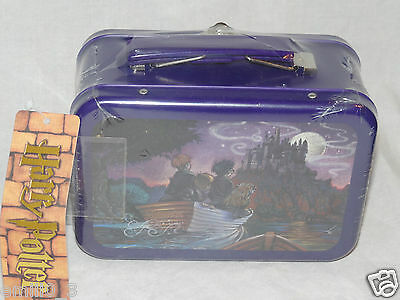 New Hogwarts Harry Potter Tin Mini Lunch Box  Mint Sealed Bag