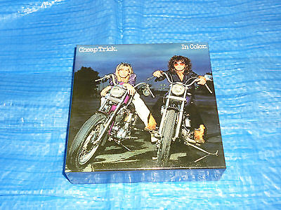 Cheap Trick In Color Empty PROMO BOX JAPAN for Mini LP CD (Box Only)