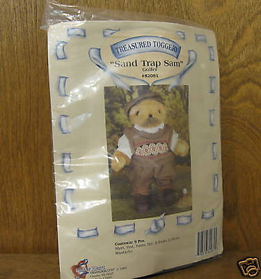 Tender Heart Treasure 82081 SAND TRAP SAM GOLFER OUTFIT New From Retail Store