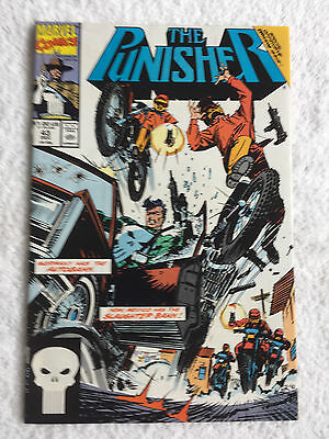 The Punisher #43 (Dec 1990, Marvel) Vol #11 Very Fine