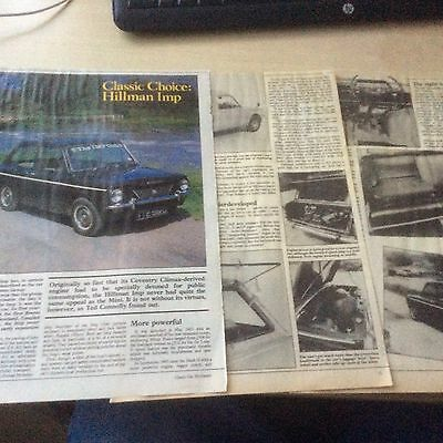 HILLMAN IMP  CLASSIC CHOICE  ARTICLE  1986  ~HilI01