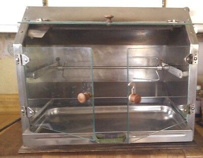 Vintage Town & Country Heavy Duty Commercial Counter Top  Rotisserie Oven Caldet