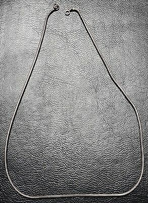 """Vintage Sterling Silver 14"""" Link Necklace - Mid Century Piece - 4.31g"""