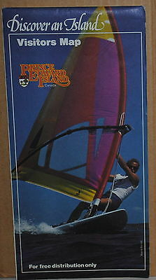 1985 Prince Edward Island Canada Official Highway map