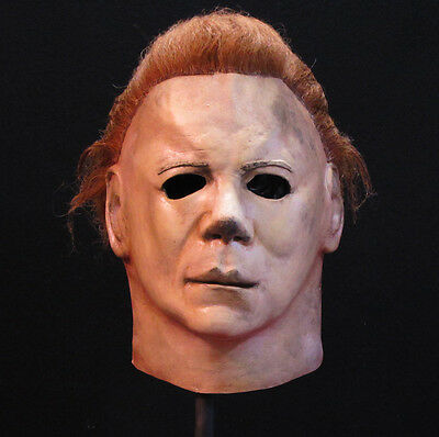 Deluxe Michael Myers Official Halloween 2 Adult Latex Full Head Mask