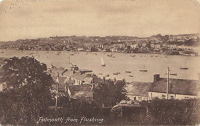 View from Flushing FALMOUTH Cornwall England UK 1919 F. Frith Postcard 24211