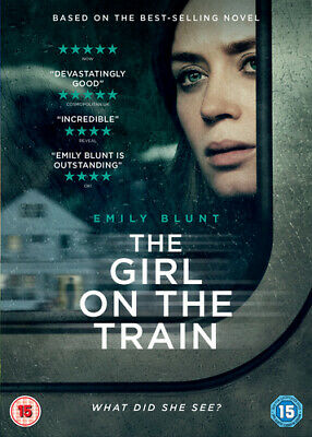 The Girl On the Train DVD (2017) Emily Blunt