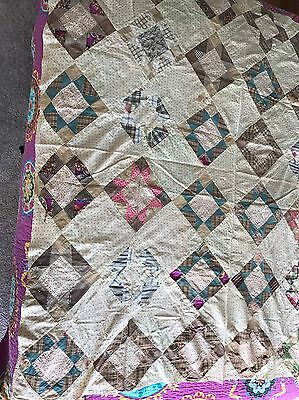 Early Old Quilt Top