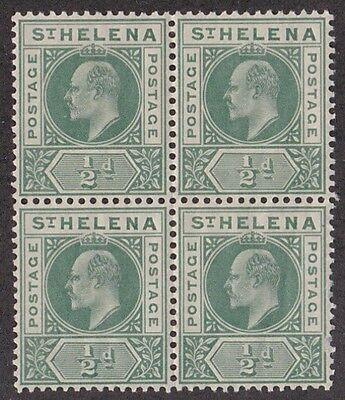 Kappysstamps Id7868 St Helena 48 Bk/4 Mint Nh Never Hinged Block