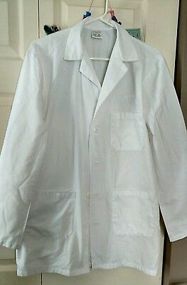 Superior Uniform White Lab Coat - Jacket/sz S