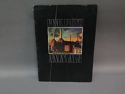 Authentic Pink Floyd Animals 1977 US Tour Show Concert Illustrated Program Book