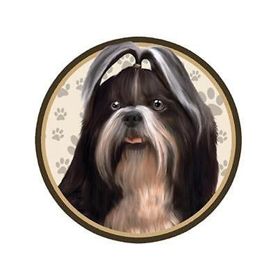 "Shih Tzu Dog 3"" Tumbler Decal For Yeti RTIC Ozark Trail and Vehicles Too"