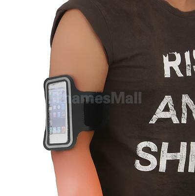 Washable Sports Armband Gym Case Arm Holder Pouch for iPhone 6/6S Plus Black