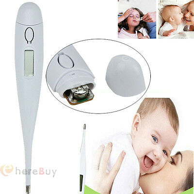 New Baby Child Body Digital LCD Heating Thermometer Temperature Tester