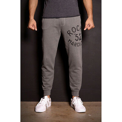 Roots of Fight Rocky Marciano '52 French Terry Sweatpants - Gray