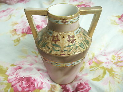 Gilded Art Deco China Vase From House Clearance