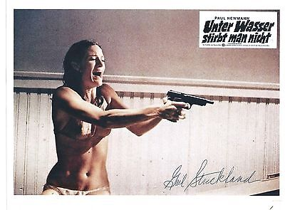 """GAIL STRICKLAND -US Actress In-""""Seinfeld etc """"-Signed 8x10 Pic"""
