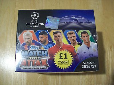 Topps Match Attax UEFA Champions League 2016/2017 Trading Cards Brand New