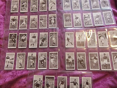 Churchman Associated Footballers. Full Set Of 50. Excellent.