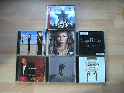 = Job Lot Of  Assorted Cd Albums  -   To Clear !!!!