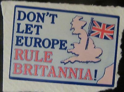 Gb Europe Postage Lable