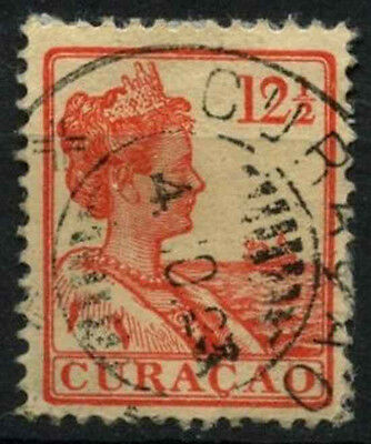 Curacao 1915-33 SG#84, 12.5c Orange-Red Used #D43822