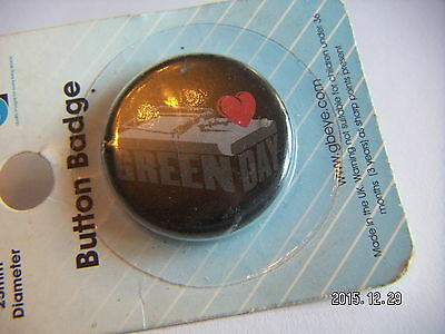 Green Day Pop Music Picture Badge