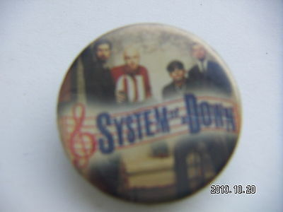 System Of A Down Pop Music Picture Badge 3