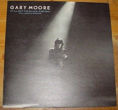 """Gary Moore - Still Got The Blues (For You) - 12"""" PS 1990"""