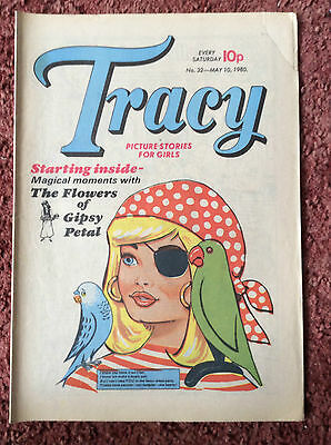 Tracy Comic For Girls. No. 32. 10 May 1980. Fn Condition.