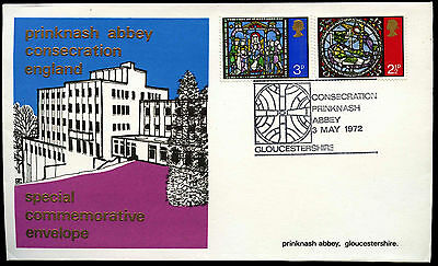 GB 1972 Consecration Prinknash Abbey Special Event Cover #C39767