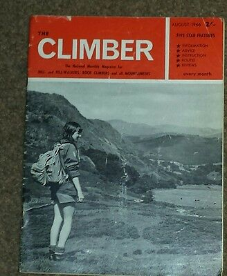 The climber August  1966 'The monthly  magazine '
