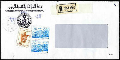 Algeria Registered Commercial Cover #C39346