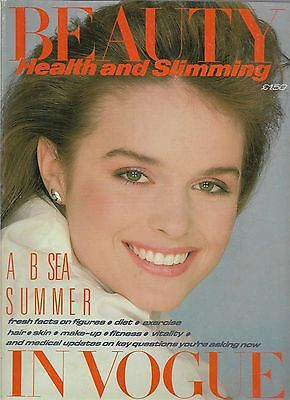 Fashion Style UK VINTAGE BEAUTY IN VOGUE Magazine SPRING/SUMMER 1982 VERY RARE