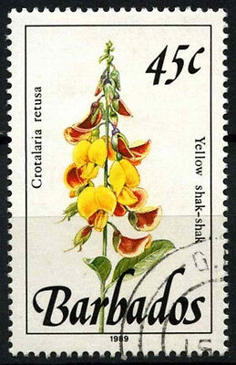 Barbados 1989-92 SG#896 45c Wild Plants Definitive 1989 Imprint Date Used#D43134